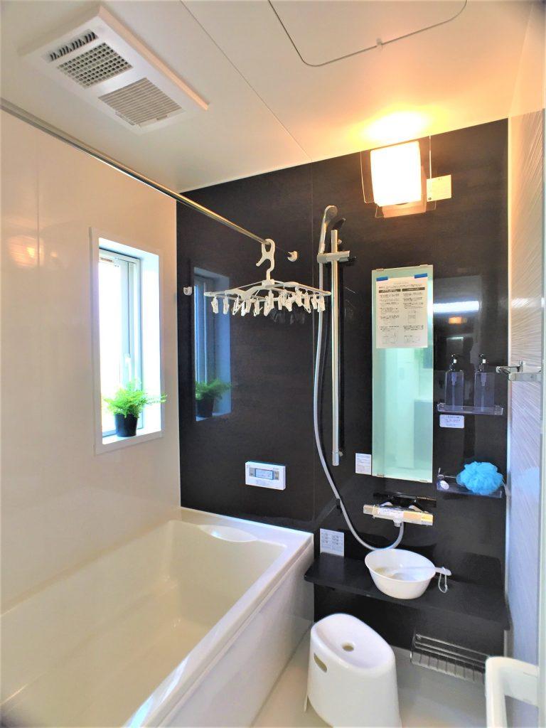 浴室はお掃除簡単でキレイ長持ち